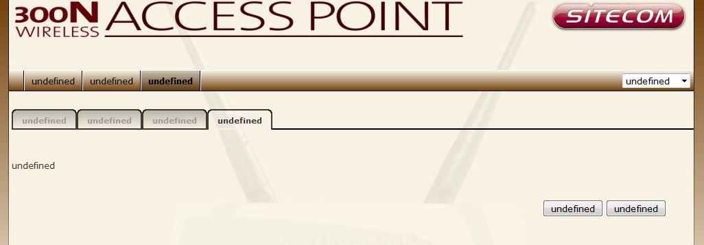 sitecom undefined